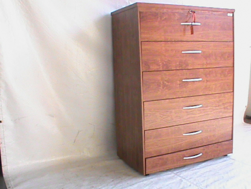 Rose wood 6 drawer optiplan