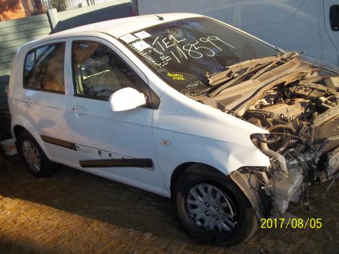 Hyundai Getz stripping for spares!!!