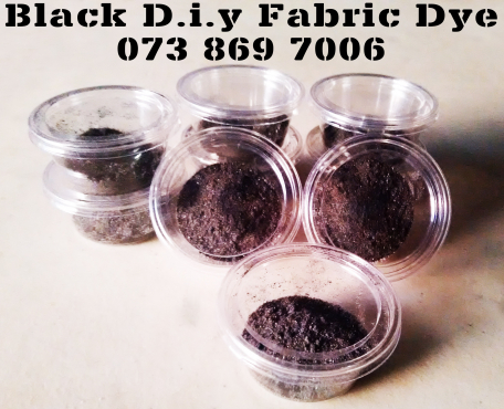 Black Fabric Dye DO IT YOURSELF AND SAVE MONEY!