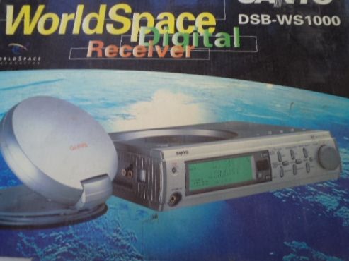 Sanyo Worldspace digital receiver