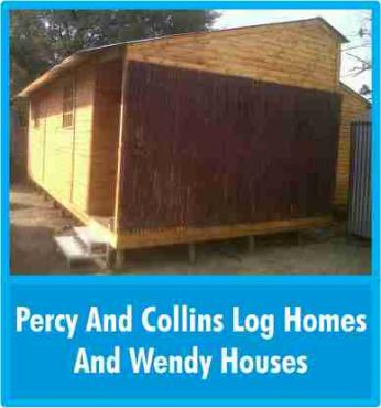 Wendy - new wood, louvre, knotty pine & logs