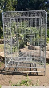 Large Galvanised Cage
