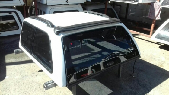 Nissan np300 hardbody dc canopy for sale