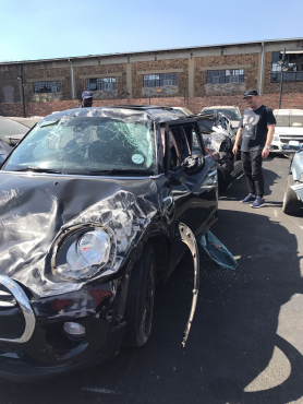 Accident Mini Cooper 5 Door Hatch Auto For Sale Junk Mail