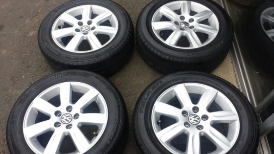 Vw Polo 6 mags and tyres 15inch and Polo vivo mags and tyres 14inch (set)