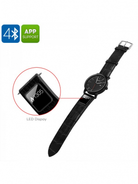 H1 Smart Sports Watch - Bluetooth 4.0, App, Text And Call Reminder, Pedometer, Calories Burned, Dist