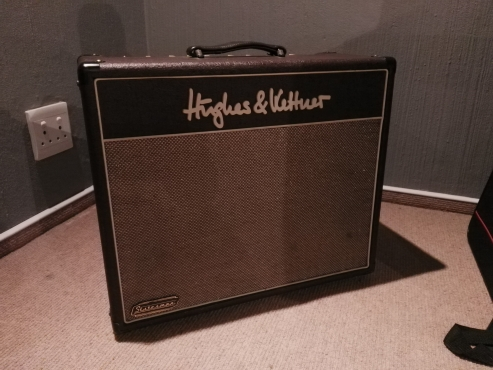 Electric Guitar Amp - Hughes and Kettner Statesman Quad EL84 40W Combo with FS-2 Footswitch and Slip Cover