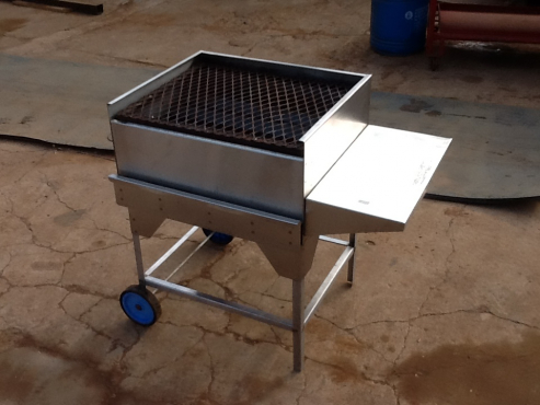 gas griller stainless steel