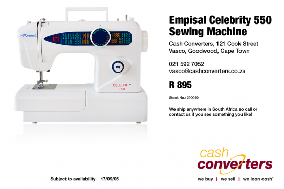 Sewing Machine Mechanic Jobs In Cape Town