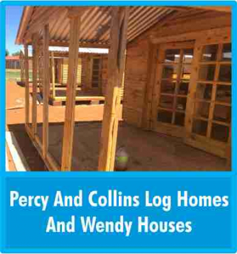 6m x 6m Wendy houses, log homes and more