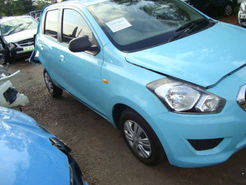 salvage/accident nissan datsun go
