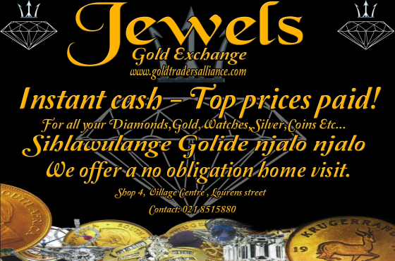 Instant cash. Top prices paid for your unwanted jewellery even if broken!!!!!