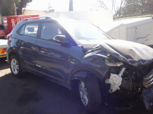 salvage/accident hyundai creta 1.6 d
