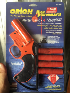 New Orion Flare Gun and Flares