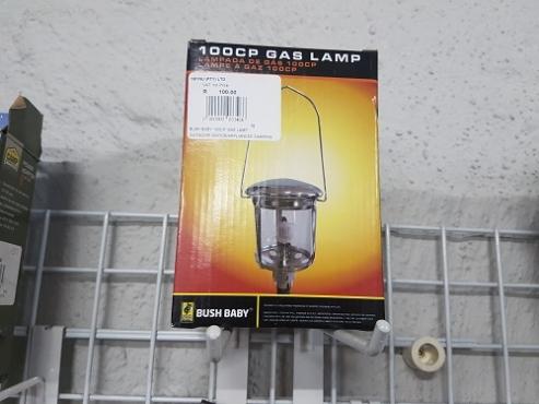 Bush baby 100 cp gas lamp