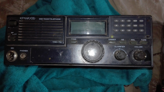 Kenwood TRC 70 HF Radio.