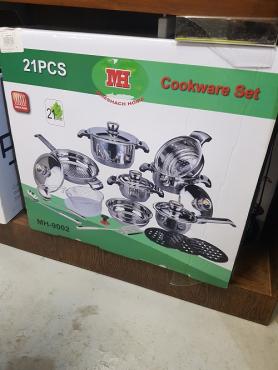 21 piece cooker wear