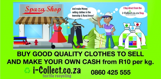 Good quality secondhand clothing per kg