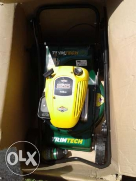 petrol lawnmower for sale or swop why